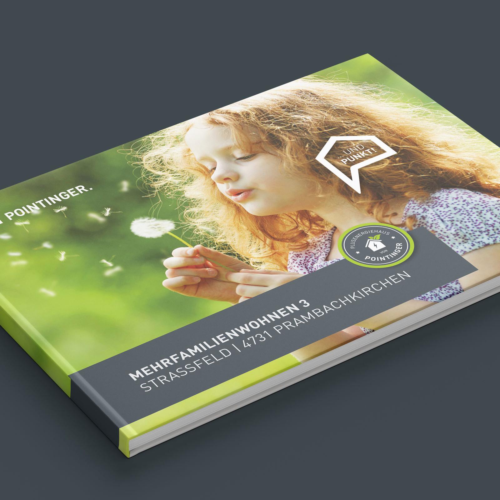 Projektbuch von Pointinger als Vorlage für das Projektvideo